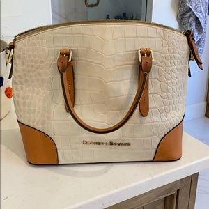 dooney and bourke dome satchel